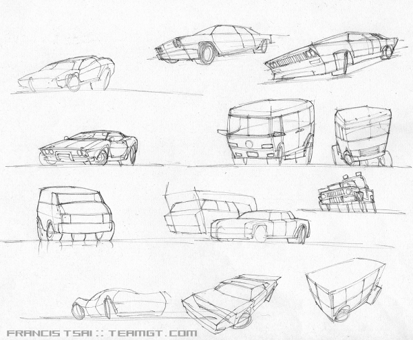 cars-sketches