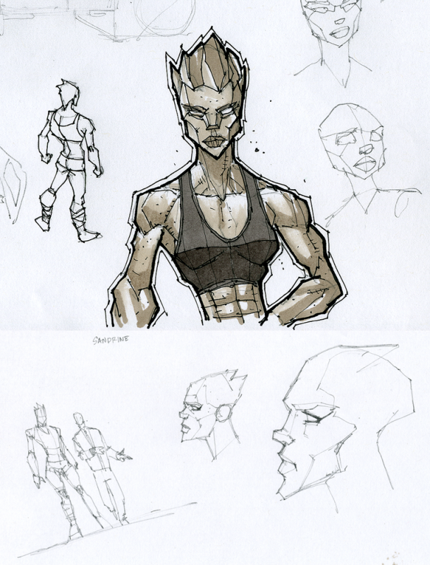 Character Design Concept Sketches : Art of francis tsai sketches